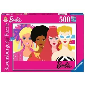 "Ravensburger (15019) - ""Barbie's 60th Anniversary"" - 500 pièces"