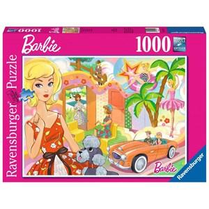 "Ravensburger (15021) - ""Vintage Barbie"" - 1000 pièces"