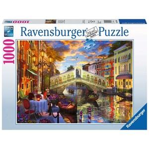 "Ravensburger (15286) - ""Sunset Over Rialto"" - 1000 pièces"