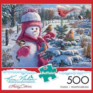 """Buffalo Games (3876) - Kim Norlien: """"Snowbaby Grace"""" - 500 pièces"""