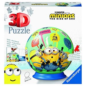 """Ravensburger (11179) - """"Minions 2, The Rise of Gru"""" - 72 pièces"""