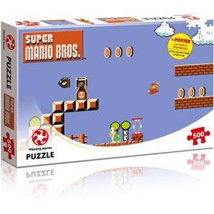 "Winning Moves Games (WIN11484) - ""Super Mario Bros., High Jumper"" - 500 pièces"