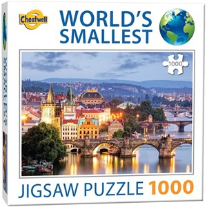 """Cheatwell Games (13992) - """"Prague Bridges"""" - 1000 pièces"""