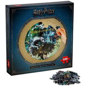 "Winning Moves Games (2473) - ""Harry Potter, Magical Creatures"" - 500 pièces"