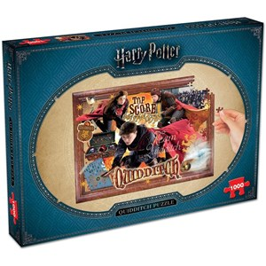 """Winning Moves Games (2497) - """"Harry Potter, Quidditch"""" - 1000 pièces"""
