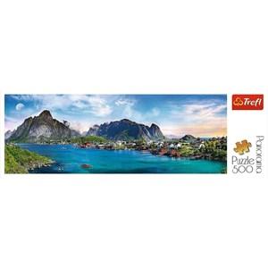 "Trefl (29500) - ""Lofoten Archipelago, Norway"" - 500 pièces"