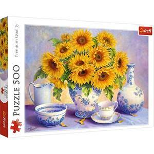 "Trefl (37293) - Hardwick Trisha: ""Sunflowers"" - 500 pièces"