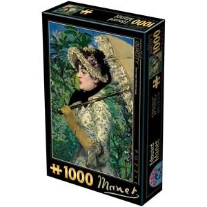 """D-Toys (73068-2) - Edouard Manet: """"Le Printemps"""" - 1000 pièces"""