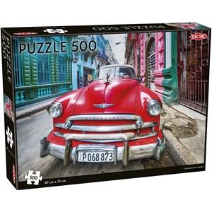 "Tactic (55255) - ""Vintage car in Havana"" - 500 pièces"