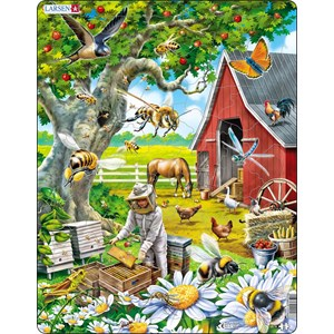 """Larsen (US39) - """"Busy Bees and the Beekeeper"""" - 53 pièces"""