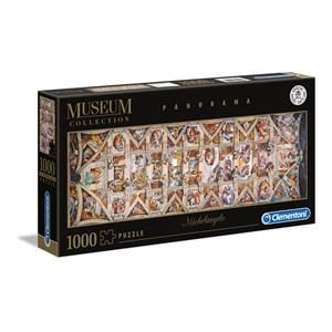 "Clementoni (39498) - Michelangelo: ""Vatican, Sistina Hat Panorama"" - 1000 pièces"