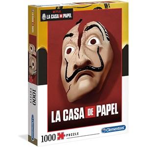 "Clementoni (39533) - Salvador Dali: ""Money Heist (La Casa De Papel)"" - 1000 pièces"