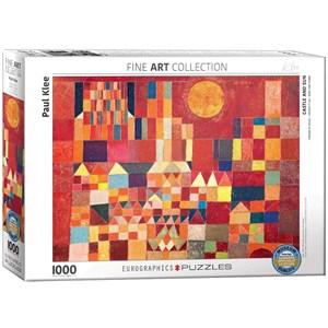 """Eurographics (6000-0836) - Paul Klee: """"Château et Soleil"""" - 1000 pièces"""