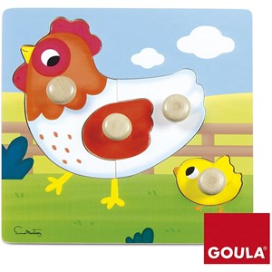 "Goula (53052) - ""Chicken"" - 4 pièces"