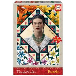 "Educa (18483) - Frida Kahlo: ""Frida Kahlo"" - 500 pièces"