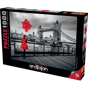 "Anatolian (1040) - Assaf Frank: ""Tower Bridge, London"" - 1000 pièces"