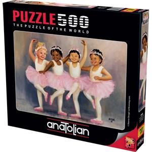"Anatolian (3598) - Diane Dengel: ""Little Ballerinas"" - 500 pièces"
