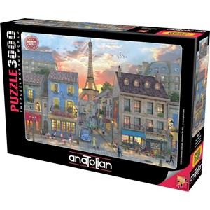 "Anatolian (4910) - Dominic Davison: ""Streets of Paris"" - 3000 pièces"