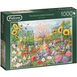 "Falcon (11224) - Anne Searle: ""The Sunflower Garden"" - 1000 pièces"