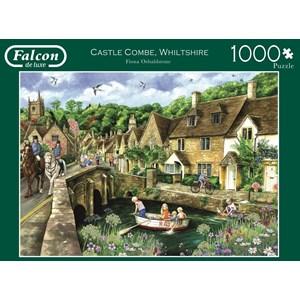 """Falcon (11233) - Fiona Osbaldstone: """"Castle Combe, Wiltshire"""" - 1000 pièces"""