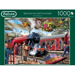 "Falcon (11250) - Victor McLindon: ""Waiting on the Platform"" - 1000 pièces"