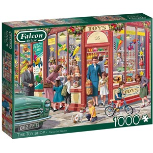 "Falcon (11284) - Victor McLindon: ""The Toy Shop"" - 1000 pièces"
