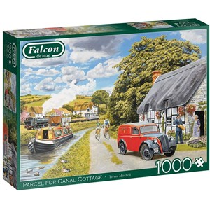 "Falcon (11299) - Trevor Mitchell: ""Parcel for Canal Cottage"" - 1000 pièces"