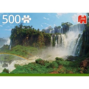 "Jumbo (18522) - ""Iguazu Falls, Argentina"" - 500 pièces"