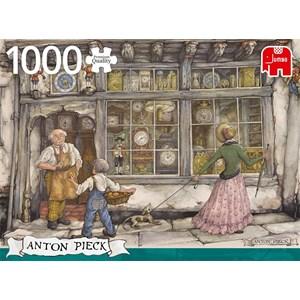 "Jumbo (18826) - Anton Pieck: ""The Clock Shop"" - 1000 pièces"