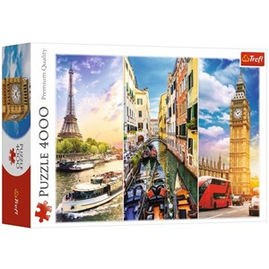 "Trefl (45009) - ""A Journey through Europe"" - 4000 pièces"