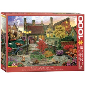 "Eurographics (6000-5531) - David McLean: ""Old Town Living"" - 1000 pièces"