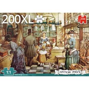 """Jumbo (18514) - Anton Pieck: """"La Boulangerie"""" - 200 pièces"""