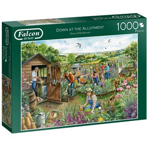 "Falcon (11265) - Fiona Osbaldstone: ""Down at The Allotment"" - 1000 pièces"