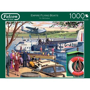 "Falcon (11194) - Victor McLindon: ""Empire Flying Boats"" - 1000 pièces"