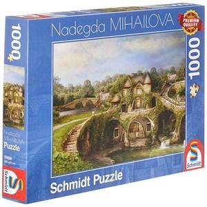 "Schmidt Spiele (59608) - Nadegda Mihailova: ""Nature House"" - 1000 pièces"