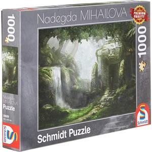 "Schmidt Spiele (59609) - Nadegda Mihailova: ""Retreat"" - 1000 pièces"