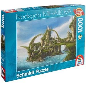 "Schmidt Spiele (59610) - Nadegda Mihailova: ""Island of the Falls"" - 1000 pièces"
