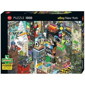 """Heye (29914) - eBoy: """"New York Quest"""" - 1000 pièces"""