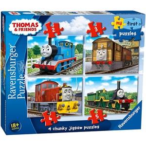 """Ravensburger (06940) - """"Thomas & Friends"""" - 2 3 4 5 pièces"""