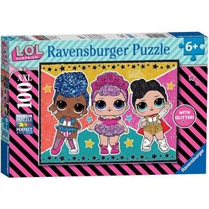 """Ravensburger (12881) - """"LOL Surprise"""" - 100 pièces"""