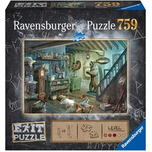 "Ravensburger (15029) - ""Forbidden Basement (in German)"" - 759 pièces"
