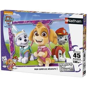 """Nathan (86533) - """"Les Filles de la Paw Patrol"""" - 45 pièces"""