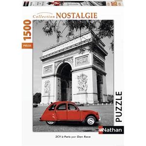 """Nathan (87797) - """"Citroën 2 CV in Paris"""" - 1500 pièces"""