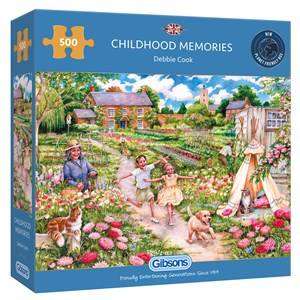 "Gibsons (G3126) - Debbie Cook: ""Childhood Memories"" - 500 pièces"