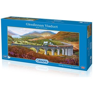 "Gibsons (G4037) - Mike Jeffries: ""Glenfinnan Viaduct"" - 636 pièces"
