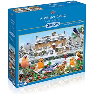 """Gibsons (G6199) - Greg Giordano: """"A Winter Song"""" - 1000 pièces"""