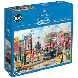 """Gibsons (G6256) - Derek Roberts: """"Piccadilly"""" - 1000 pièces"""