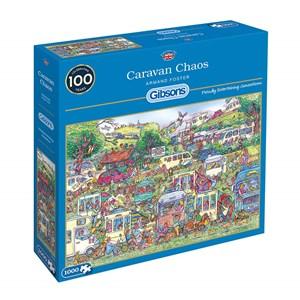 "Gibsons (G6258) - Armand Foster: ""Caravan Chaos"" - 1000 pièces"