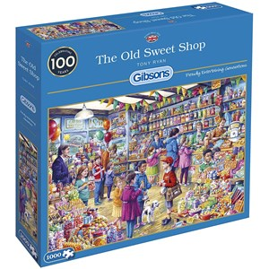 """Gibsons (G6274) - Tony Ryan: """"The Old Sweet Shop"""" - 1000 pièces"""