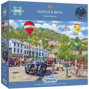 """Gibsons (G6280) - Derek Roberts: """"Matlock Bath"""" - 1000 pièces"""